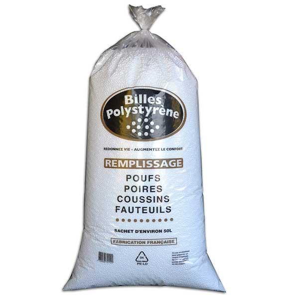 Recharge billes PSE 50 l pour pouf