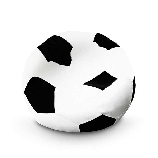 Pouf ballon de football