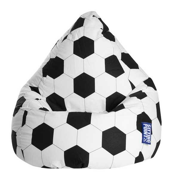 Pouf poire ballon de foot